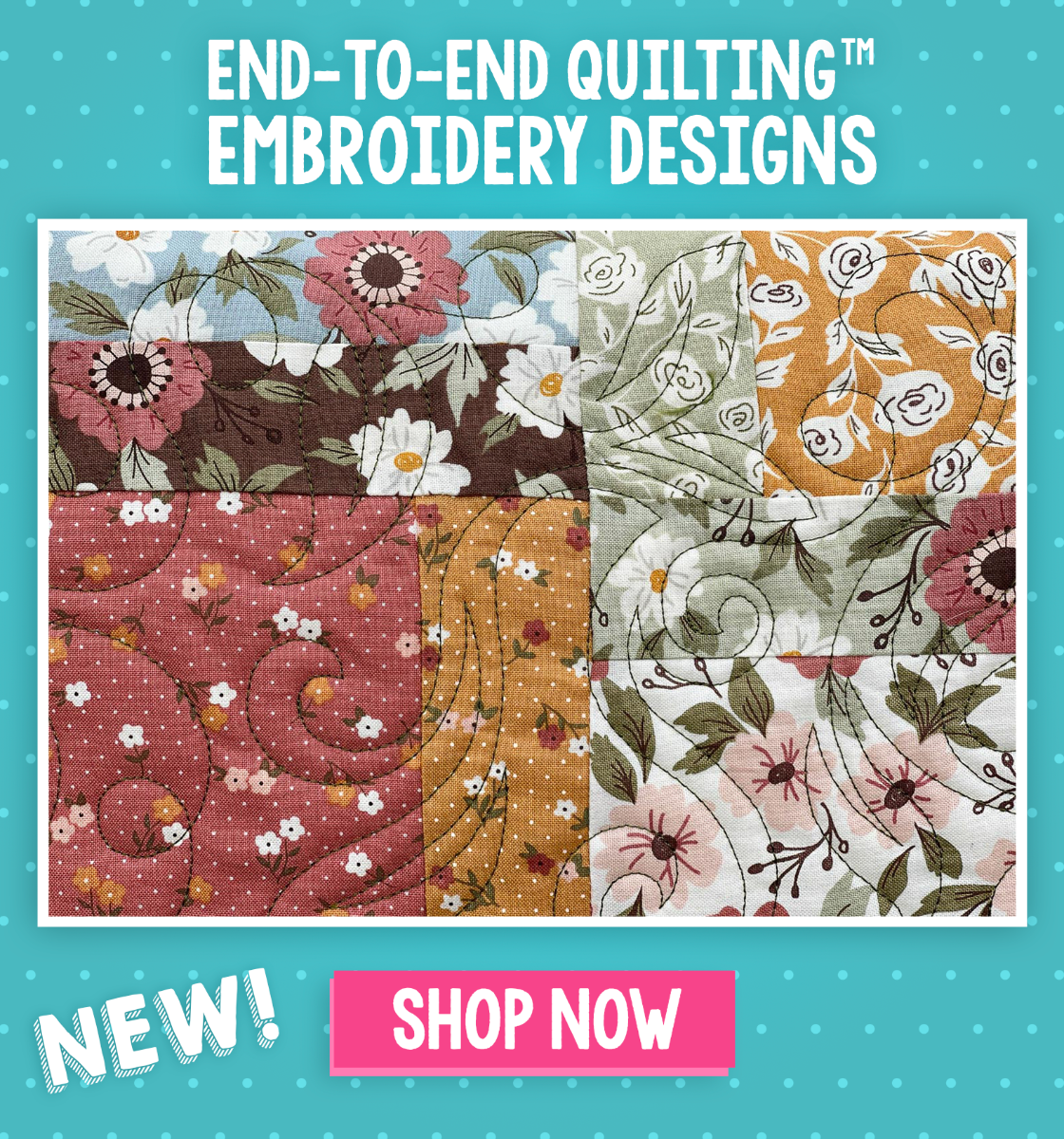 End-to-End Quilting Embroidery Designs