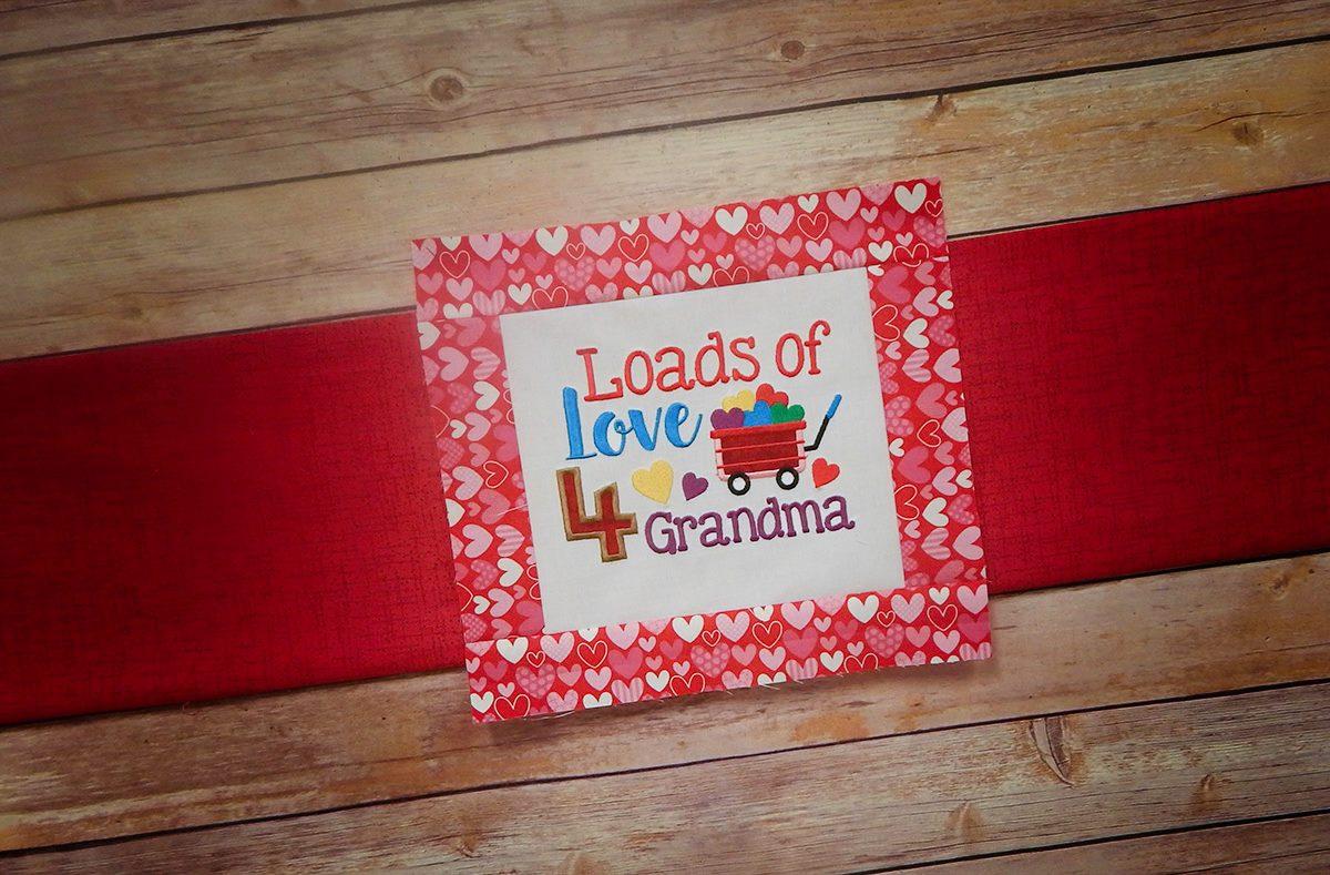 Loads of Love 4 Grandma - New Grandparent Sayings