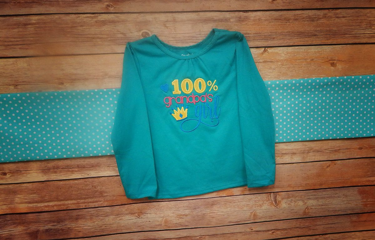 Grandpas Girl - Sweatshirt - New Grandparent Sayings