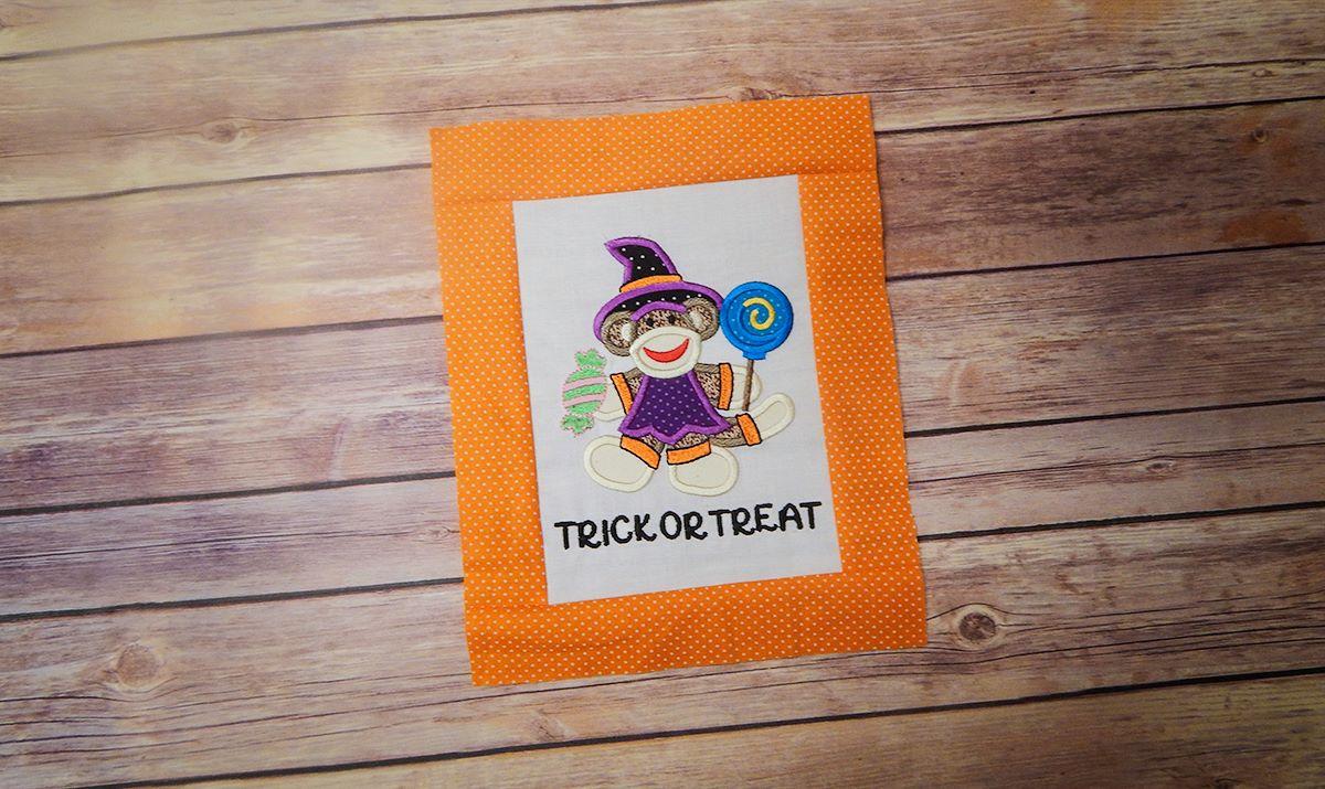 "Halloween Sock Monkeys - Set ""Halloween Harvest Sock Monkeys"" - Project"