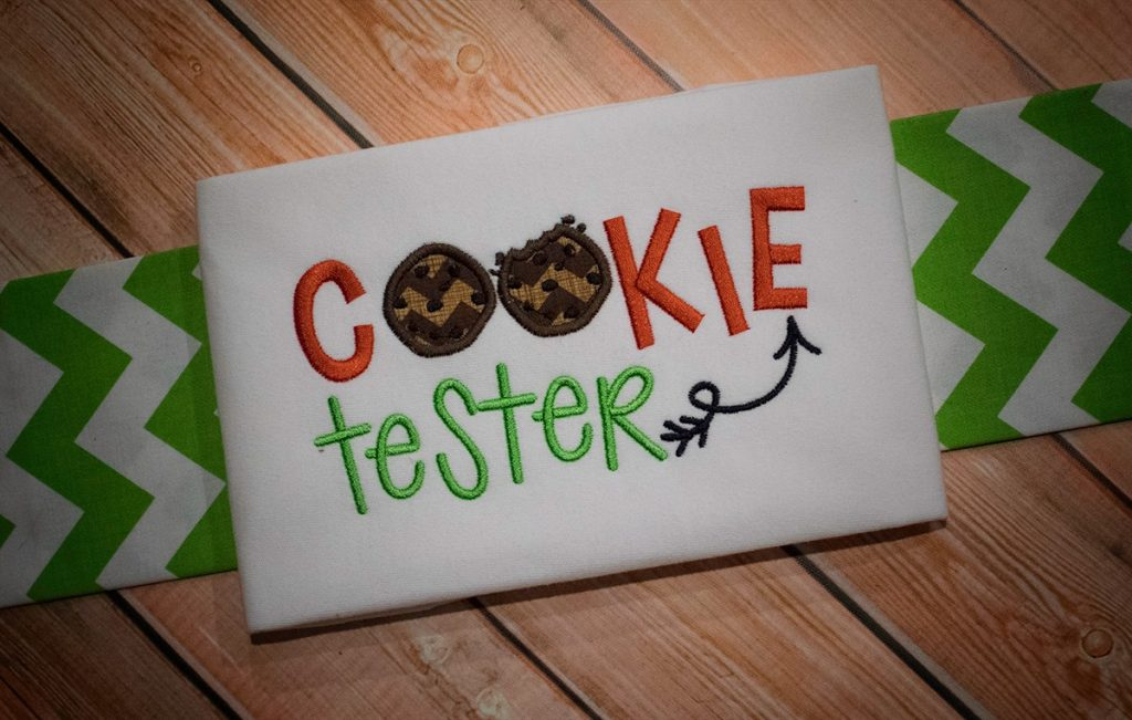Cookie Tester - New Christmas Word Art set 3