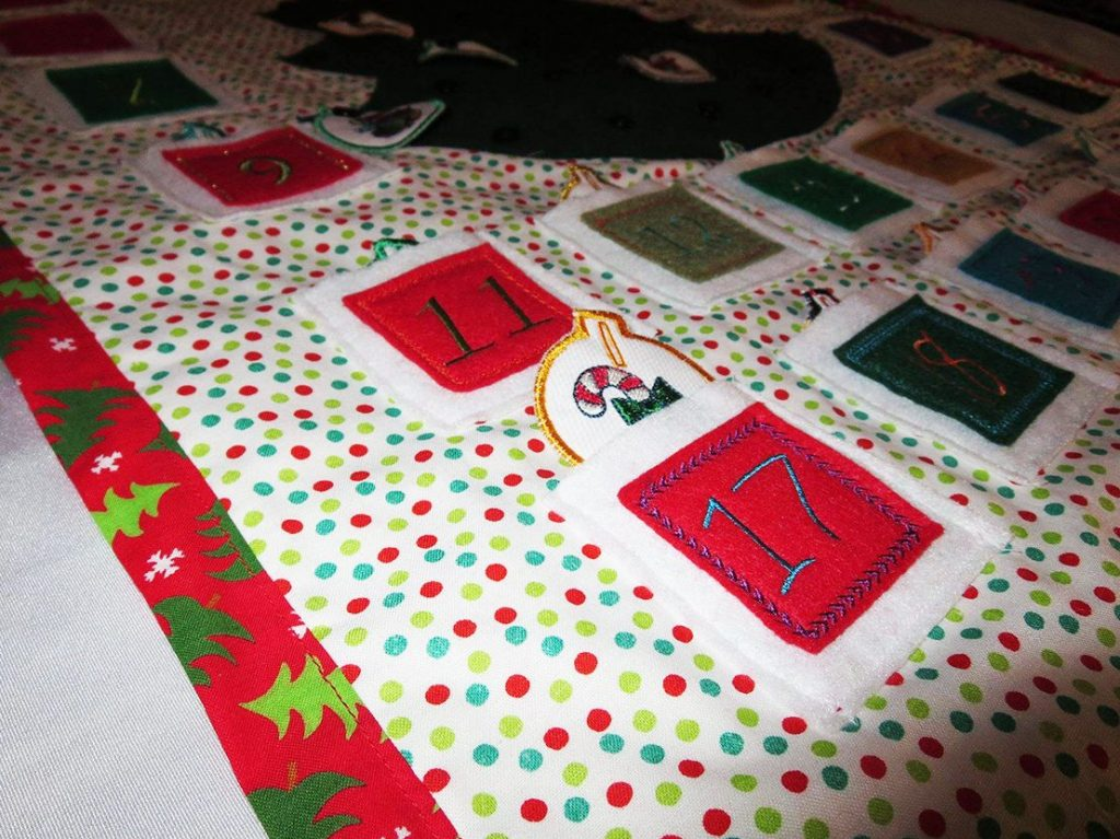 customer project - Kathy Kahler / advent Calendar