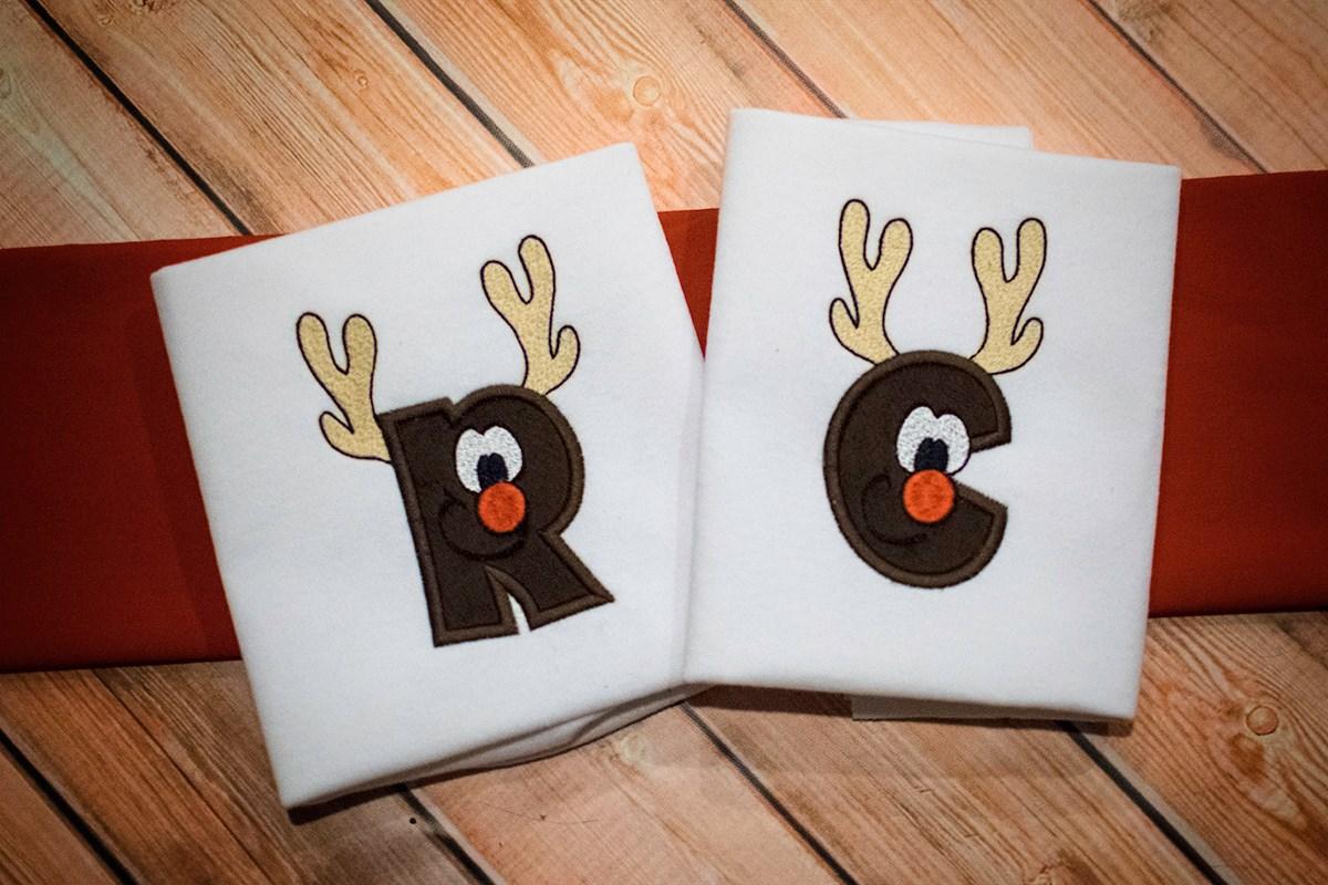 R-C Reindeer / Christmas Hat Alphabet
