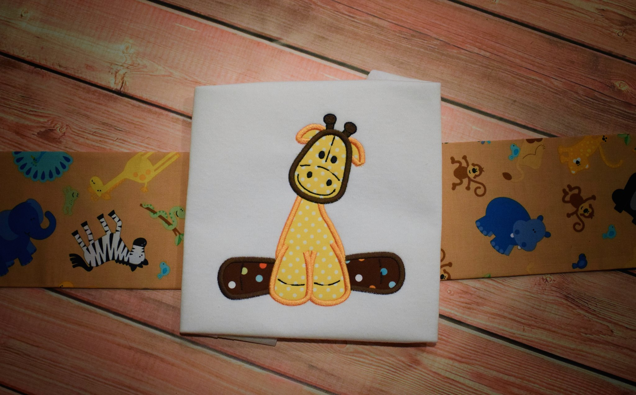 giraffe-applique / Animal Applique Quilt Blocks