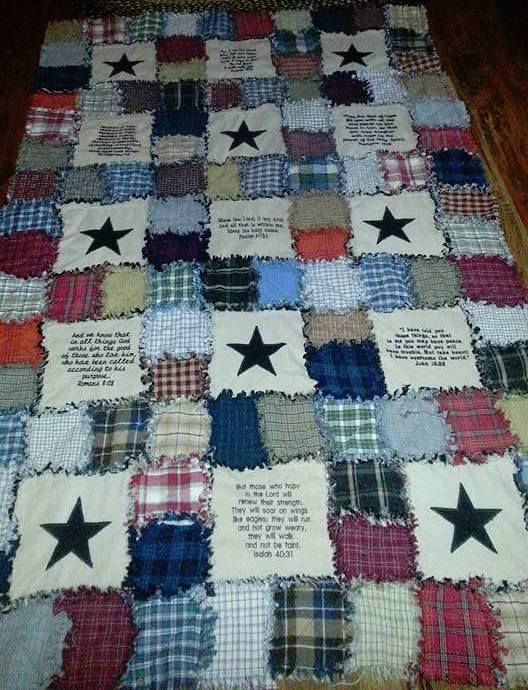 Full Quilt By Renae Jackson / Free Bible Verses