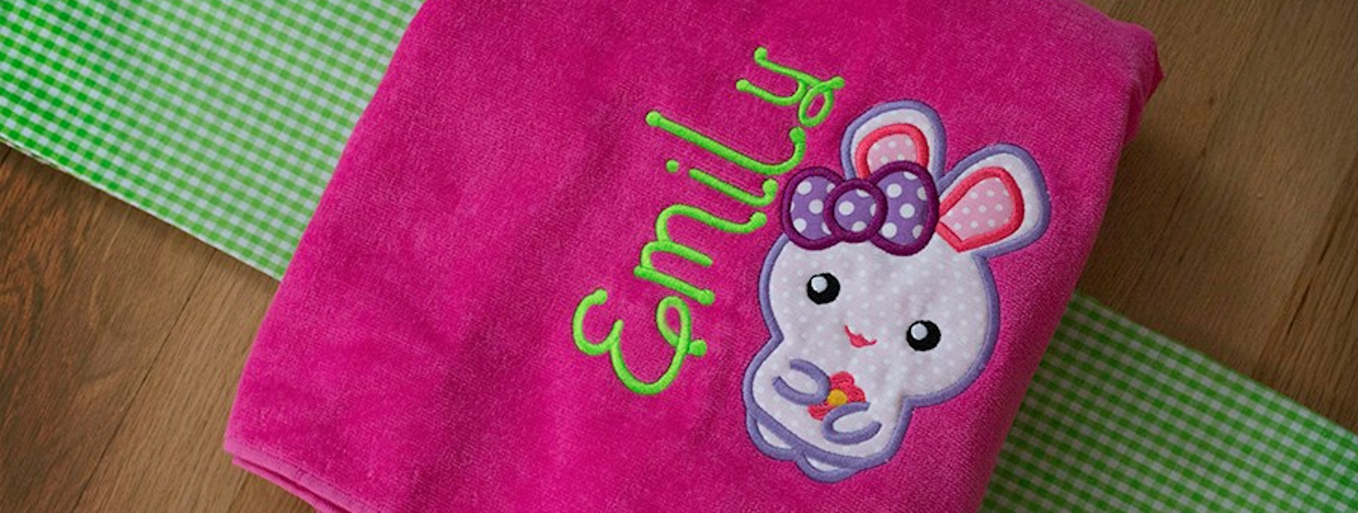 Bunny Applique - Free Embroidery Designs