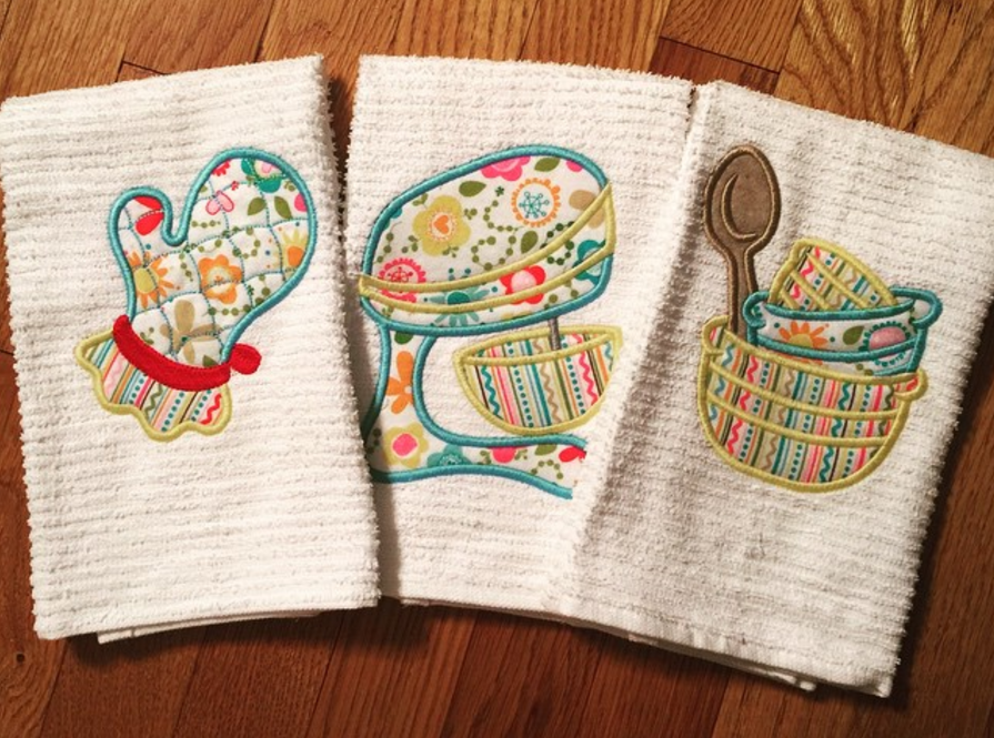Customer Project: Stacey Lee - Kitchen Embroidery