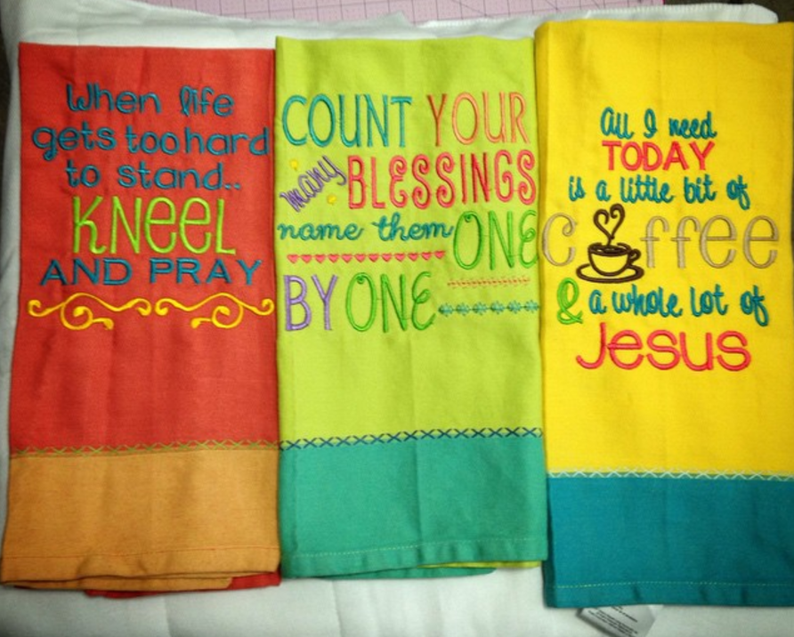 Project By: Buffy Walker - Sweet Saying - Sets 1 & 2