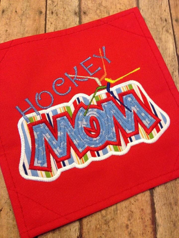 Sports Mom Applique Set 1 - Sporty