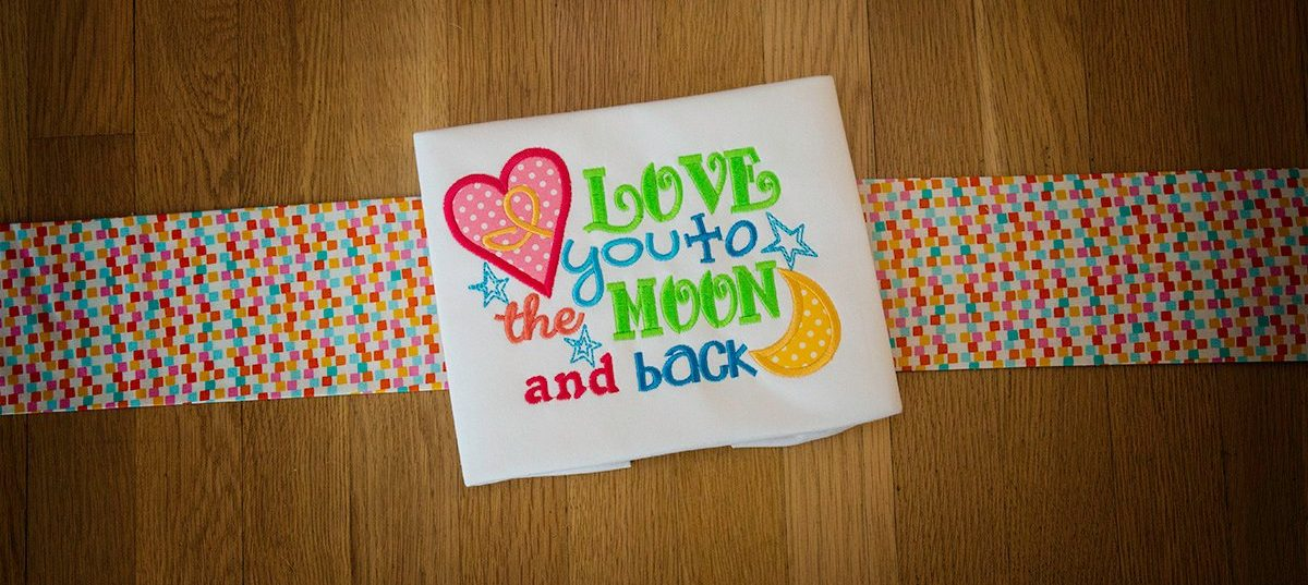 Moon and Back - Sweet Saying - Set 1