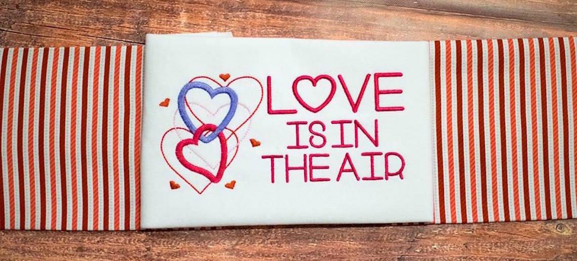banner / Valentine's Day Alphabets