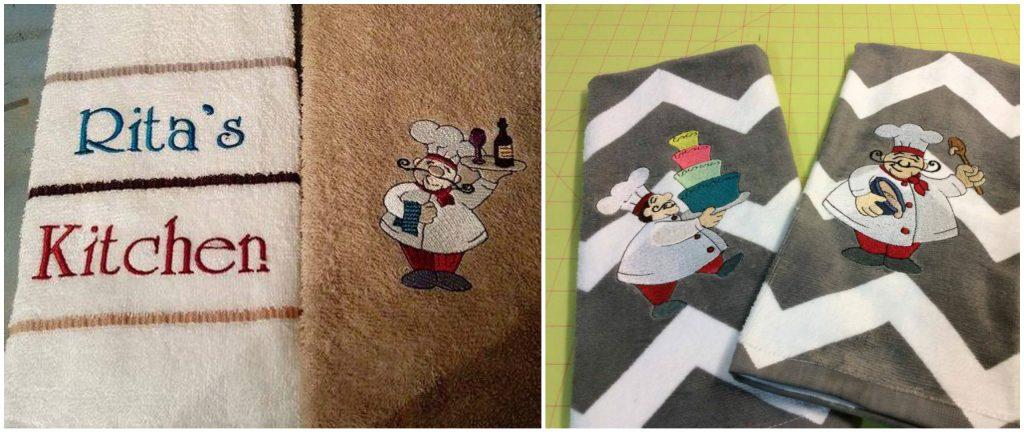 Bon Appetit Chefs Towels