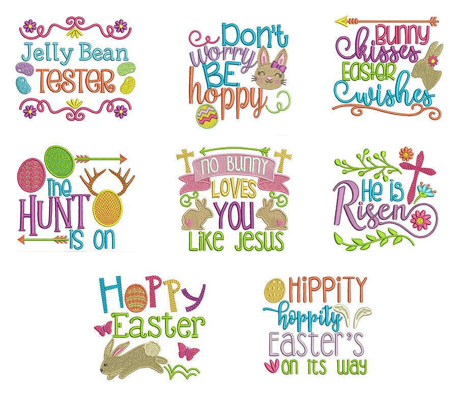 Easter Word Art 2