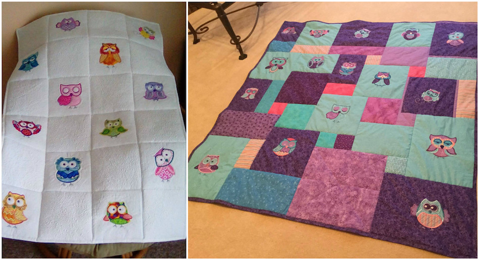 Full Quilts / A Hoot and A Half