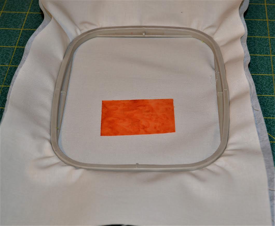 Fabric on Hoop