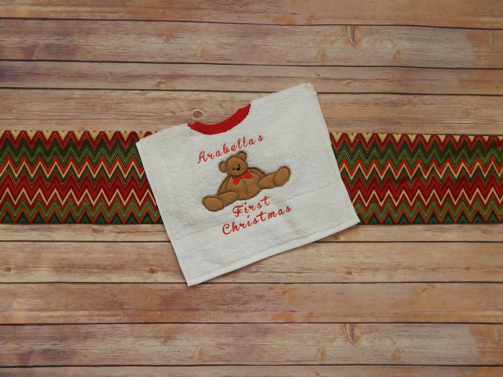 dbjj215-fuzzy-christmas-teddy-bear-priscila-script-embroidery